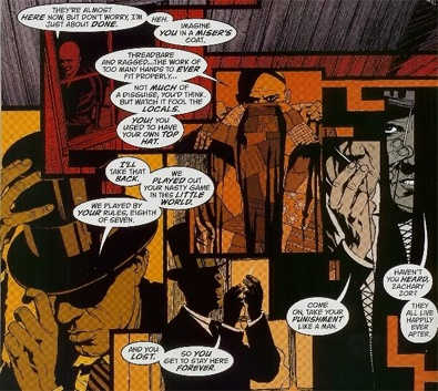 Qu'eeest-ce qu'il fait là Grant Morrison ? (et puis surtout, qu'est-ce qu'il raconte ???) © DC Comics