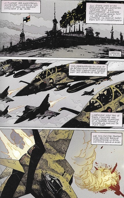 On ne badine pas avec le réalisme des armes de guerre! © DC Comics/Vertigo