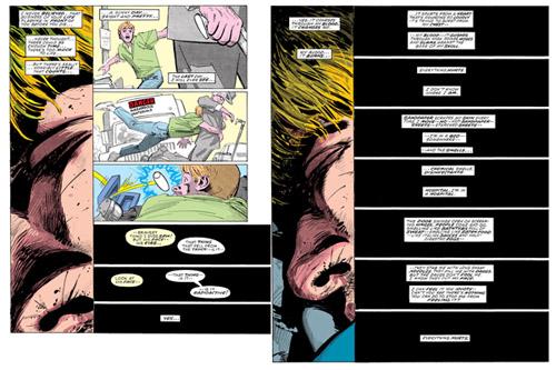 Le dernier jour ensoleillé que verra Matt Murdock  (c) Marvel Comics