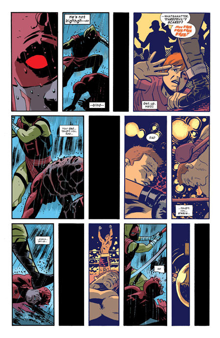 Blackouts à répétition avant le KO final  (c) Marvel Comics