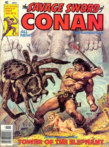Conan vs l'Araignée!