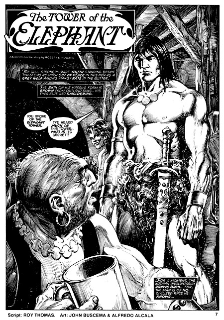 Conan soigne son entrée – (c) Marvel Comics