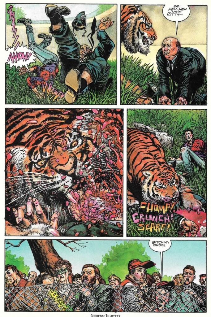 Comme la branche de l'arbre, les instants Ennis, ça passe ou ça casse ! ©Vertigo