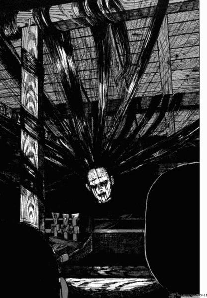 Les cheveux dans l'horreur, c'est bien japonais ça.
