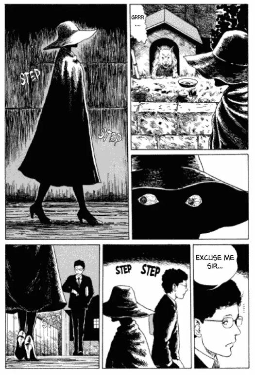 Quel est le secret de cette femme?  © 1988 Junji ITO : Asahi Sonorama (VO)/Tonkam (VF)