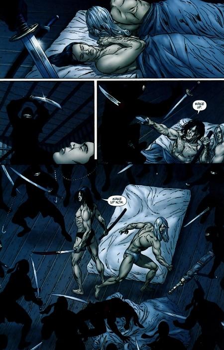Ne réveillez pas un couple de super-héros qui dort… © Image Comics