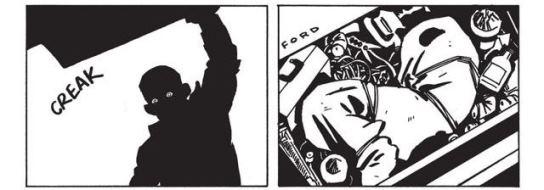 Le colis dans le coffre : un cadavre. (c) Image Comics