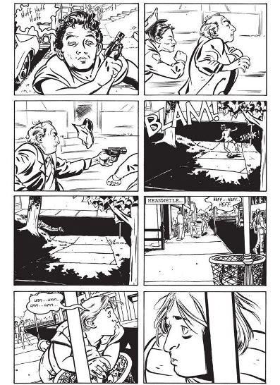 Un découpage à base de 8 cases par page. (c) Image Comics