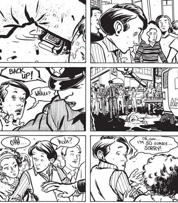 Un bon fils comme il faut, au mauvais endroit, au mauvais moment. (C) Image Comics