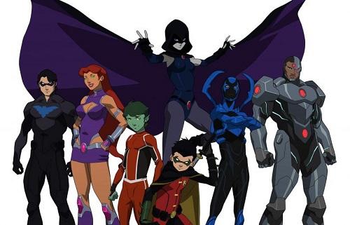 Toutes itérations confondues depuis 1980, l'équipe semble bien vouloir se stabiliser autour de Nightwing, Starfire, BeastBoy et Raven ©2017 DC-Warner animation source: http://s3-us-west-1.amazonaws.com/dcn-wp/wp-content/uploads/2016/01/04085137/image-6.jpg