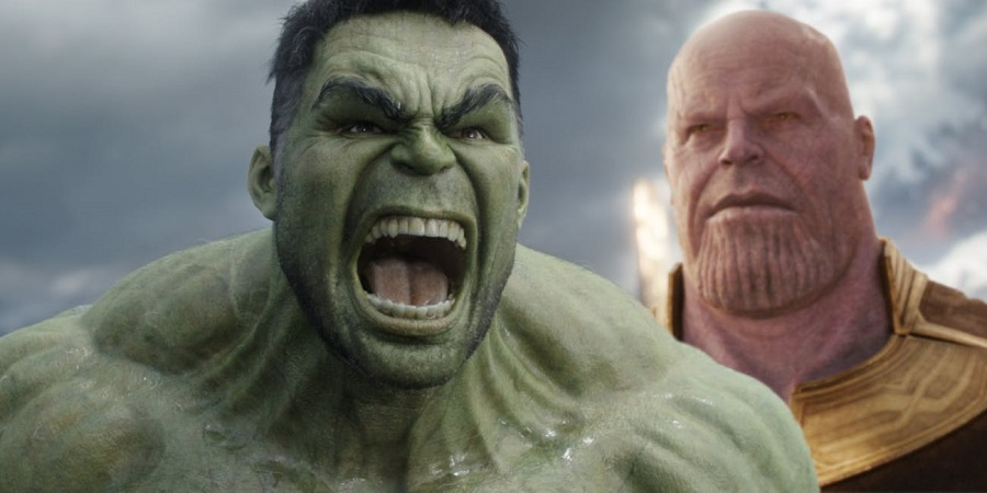« Thanos ton film c'est de la meeeeeerde !! » Source : Inverse https://www.inverse.com/article/47646-avengers-infinity-war-hulk-wont-transform-banner-real-reason © Marvel Studio / Walt Disney Company