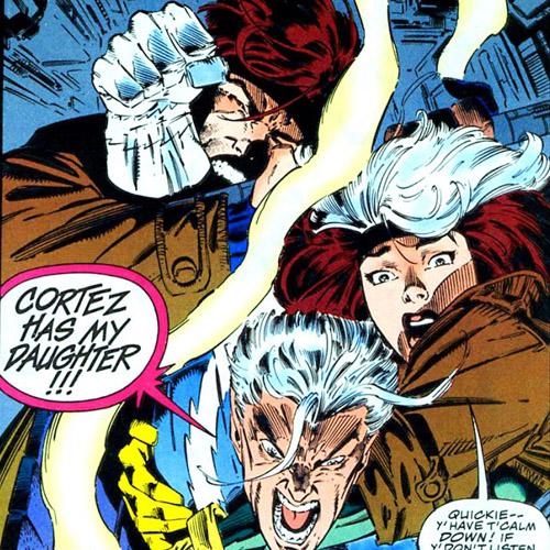 Euh, qui est volontaire pour expliquer la consigne à Quicksilver? ©Marvel Comics