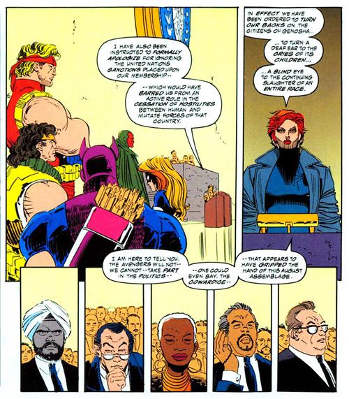 Font chier, ces superhéros, ils veulent pas comprendre la consigne…  (c) Marvel Comics