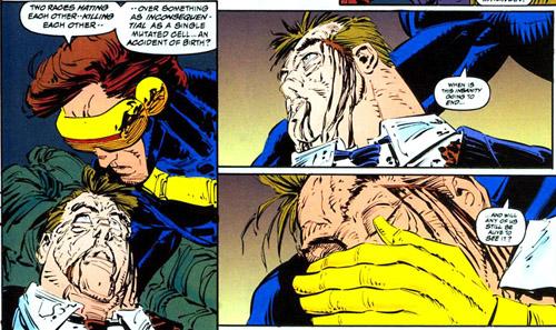 C'est pas grave, Scott, laisse aller, un jour, tu t'en foutras totalement…  (c) Marvel Comics