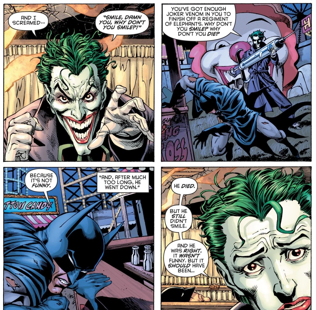 Le Joker, ici ?  ©DC Comics / Urban Comics
