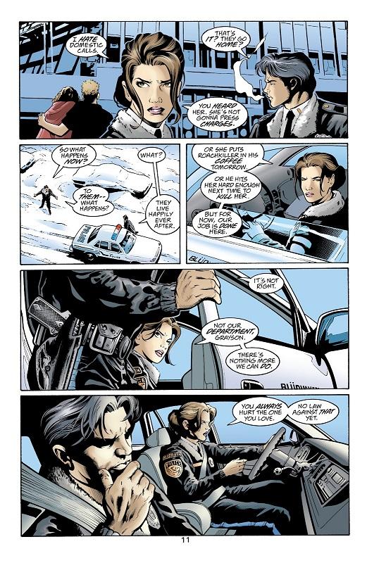 Les limites de la loi, justifiant les actions des justiciers masqués. © DC Comics