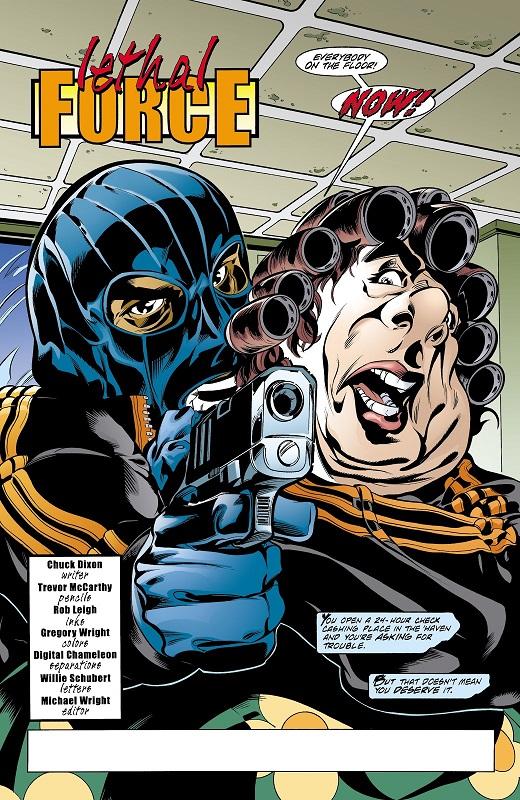 Non, vraiment, ça, c'est pas possible… © DC Comics
