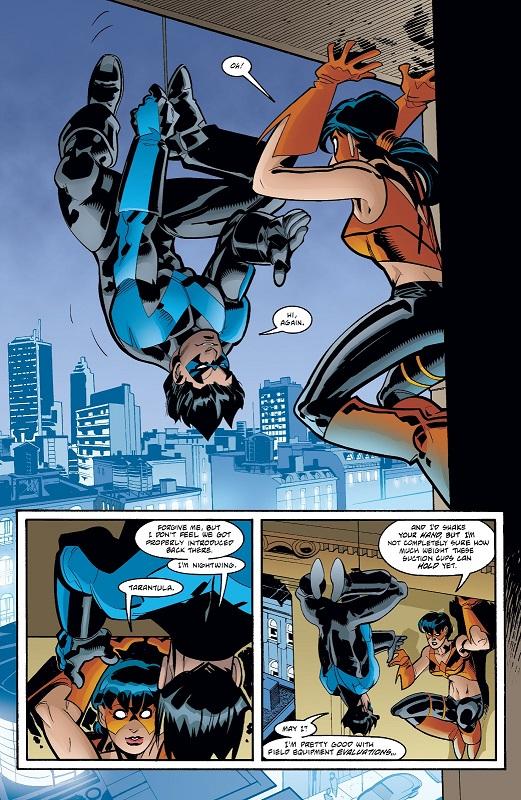 Hommage à Spidey face à Tarentula © DC Comics