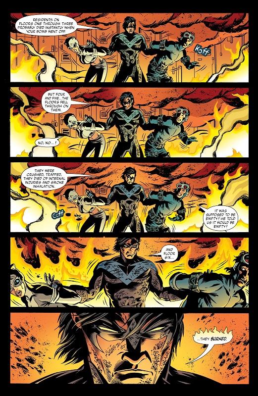 Fallait pas le chauffer… © DC Comics