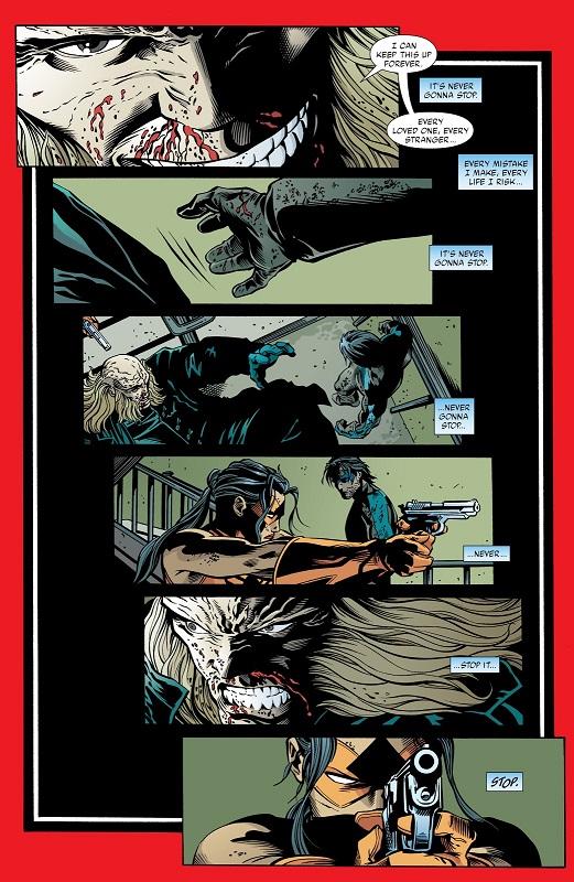 Le climax de la série… © DC Comics