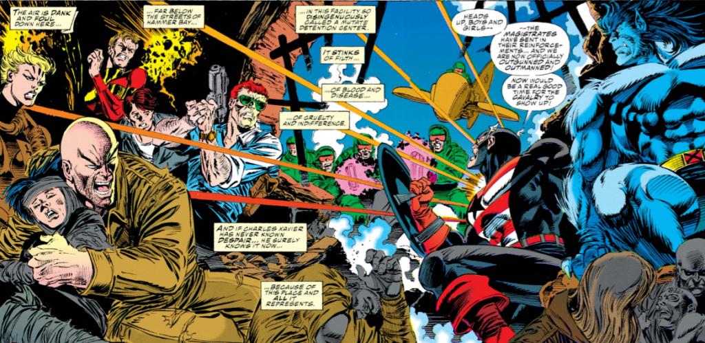 Les civils avant tout !  ©Marvel Comics