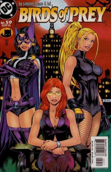Le line up le plus iconique. ©Ed Benes-2002-DC COMICS