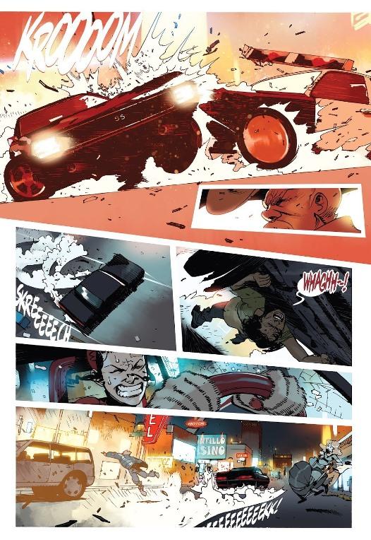 Je ne lui confierais pas ma voiture.  © Image Comics