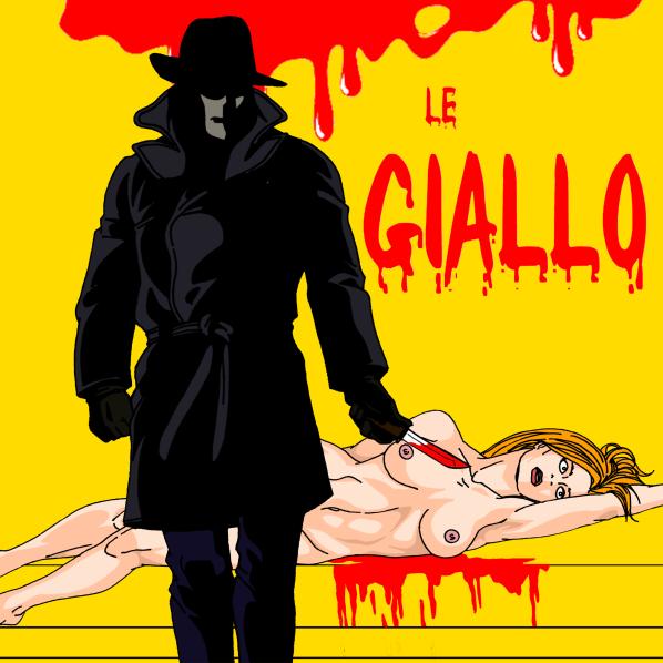 Le tueur ganté et les victims féminines, le cahier des charges du giallo Illustration de Mattie-Boy