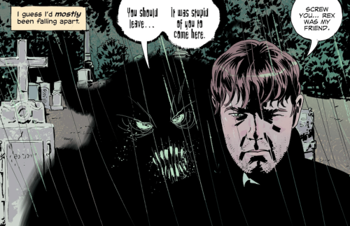Dylan et son démon cornu... © Image Comics