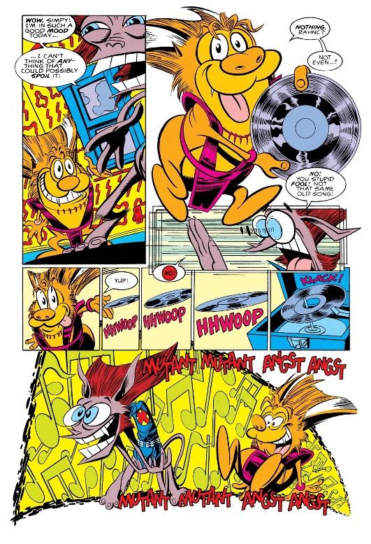 Les 90s, c'est aussi ça, par David & Quesada  © Marvel Comics