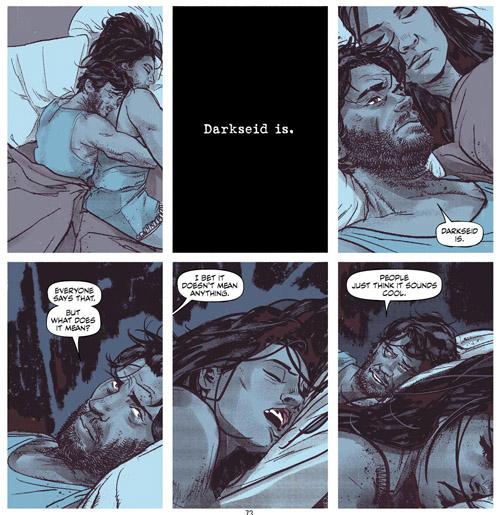 Darkseid cause des angoisses nocturnes…  (c) DC Comics