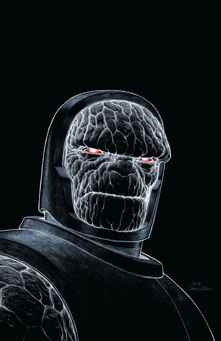 Darkseid est… superbement croqué par Nick Derington  (c) DC Comics