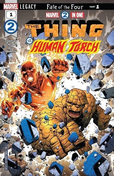 « Ça va chauffer », comme au bon vieux temps !  © Marvel Comics