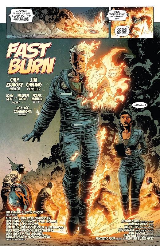 Quelqu'un pour éteindre l'incendie ?  © Marvel Comics
