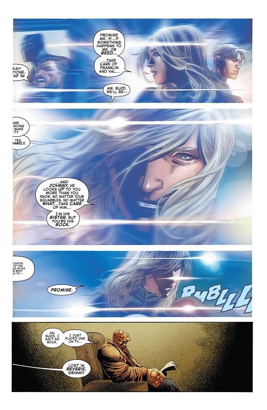 Souvenir d'une promesse  © Marvel Comics