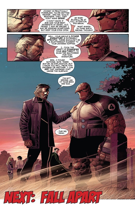 L'ironie du multiverse, où quand chacun retrouve un ami perdu  © Marvel Comics
