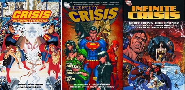 C'est la les crises ! © DC Comics