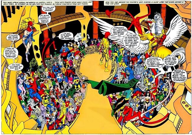 Y a du monde au balcon ! © DC Comics