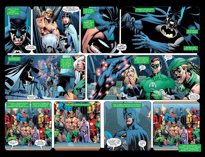 La grande famille… © DC Comics