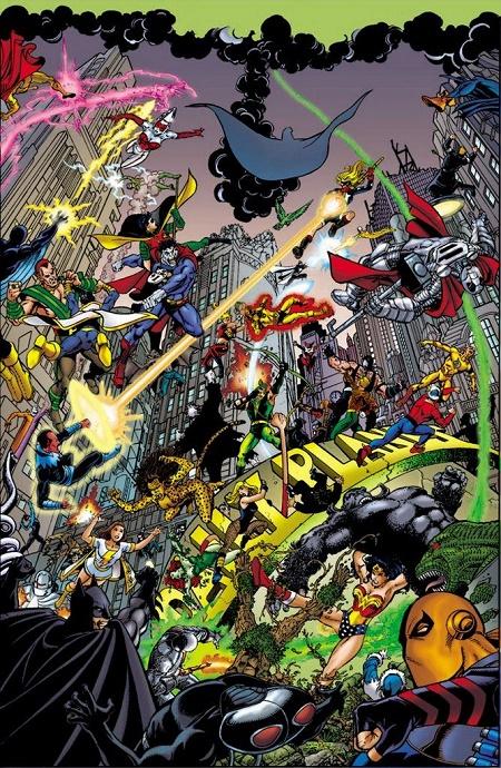 Et si on faisait encore plus fort que CRISIS ON INFINITE EARTHS ? © DC Comics