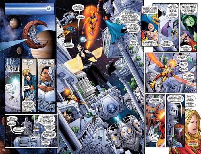 La claque ! © DC Comics