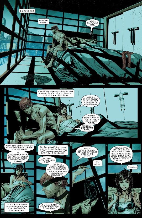Le coup d'un soir  © Marvel Comics