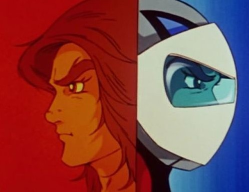 La vengeance aux deux visages Source : Pinterest  https://www.pinterest.fr/pin/685039793293421388/ ©Go Nagai- Toei Animation - Dynamic
