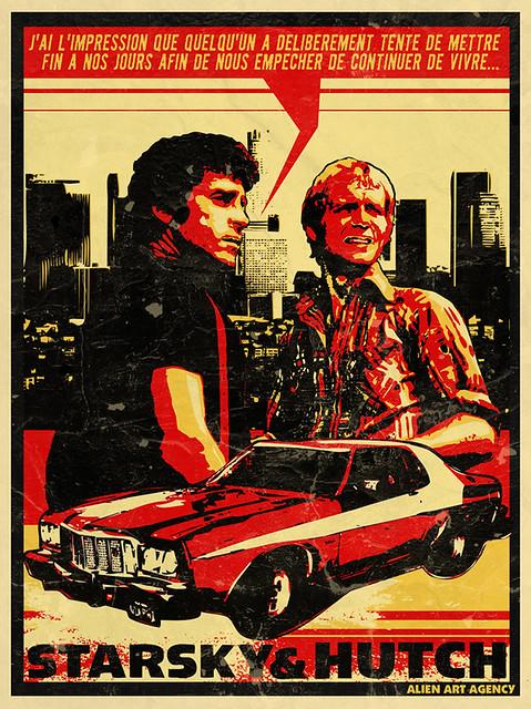 Une affiche détournée qui montre l'affiliation avec Bullit et par extension avec la cool attitude. Source: Flickr https://www.flickr.com/photos/alienartagency/3026656701