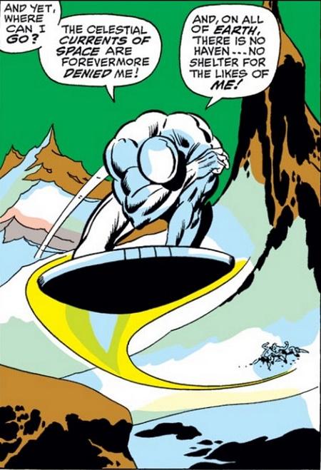 Le Hérault pris en flagrant-délit d'atermoiements. © Marvel Comics