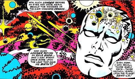 Aussi psychédélique que Dr Strange! © Marvel Comics