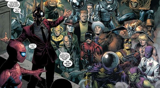 Tes amis aujourd'hui, se ont tous réunis. ©Marvel Comics