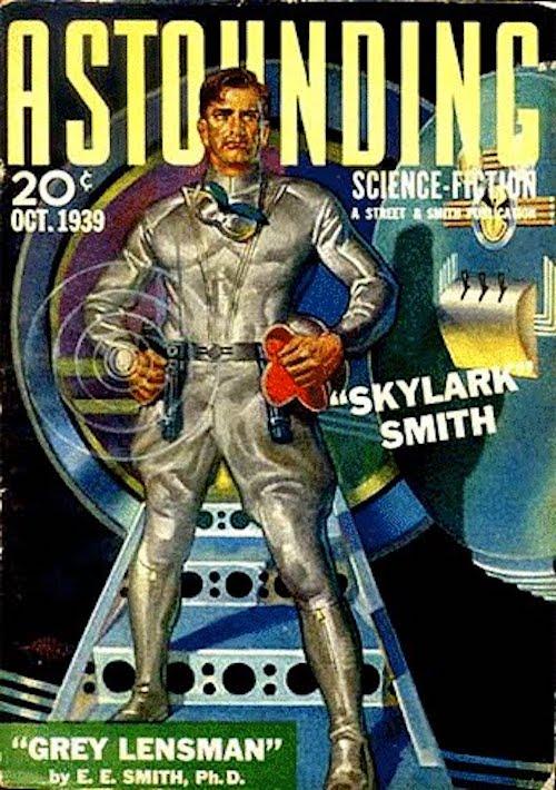 La culotte de cheval façon armée des Indes mais dans l'espace, c'est la classe à Dallas Illustration : Hubert Rogers
