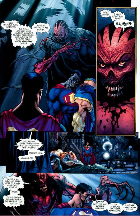Mandrakk, le Dark Monitor… © DC Comics