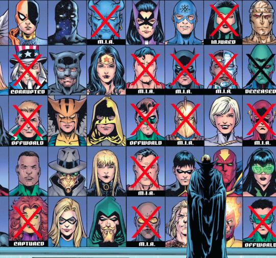 C'est la crise! © DC Comics